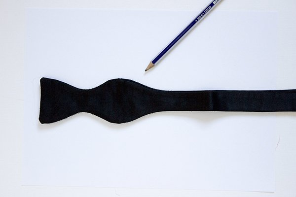 template-with-bow-tie