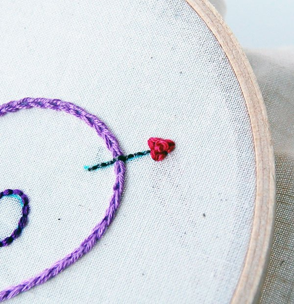 French Knot Detail