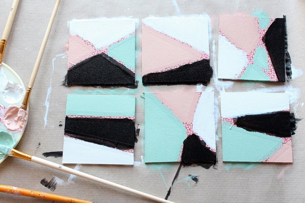 19-second coat-let dry-coasters