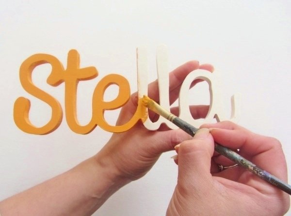 Wooden Word 12a