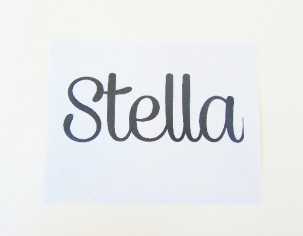 Wooden Word Tutorial 1a