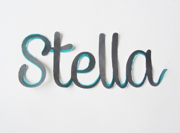 Wooden Word Tutorial 3a
