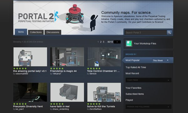 The Steam Community hub for Portal 2.