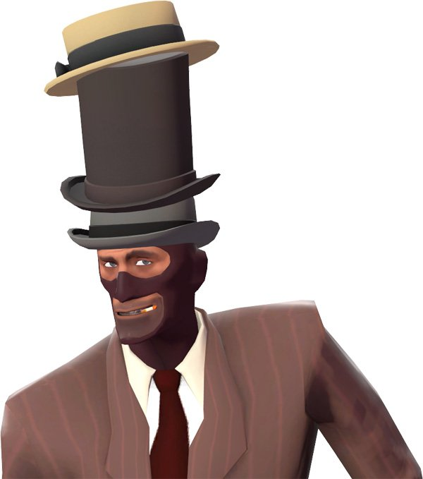 Hats are an important part of looking cool in any game. (Image from Official Team Fortress Wiki.)