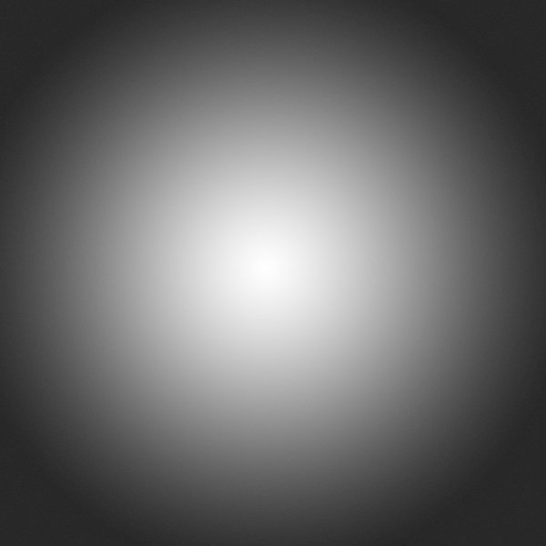 An example of a radial gradient