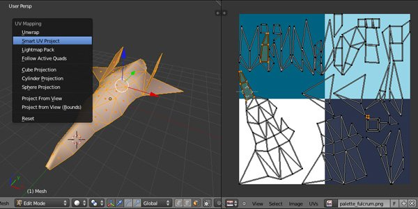Flat_shaded_3D_in_Unity_basic_uvunwrap