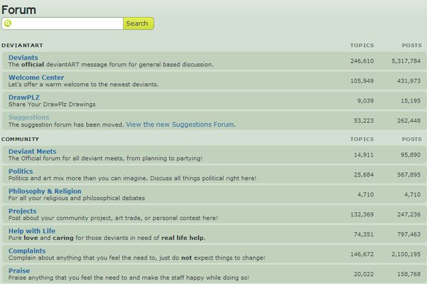 DeviantART forums A great place to find your next artist Beware excessive use of anime