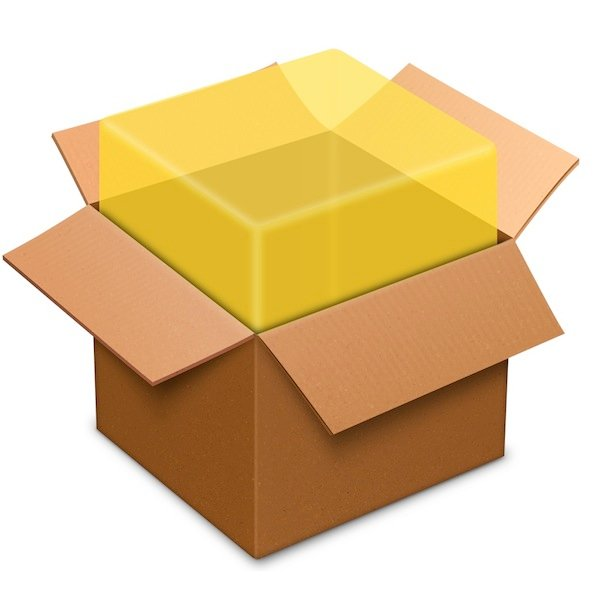 The package (.pkg) icon.