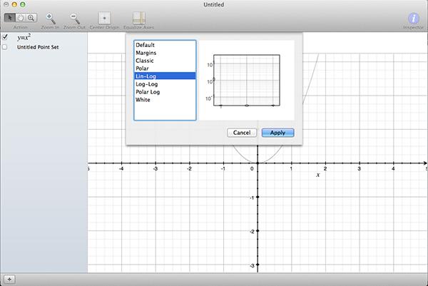 Grapher Graph Template