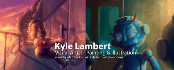 Kyle Lambert is a digital artist and illustrator
