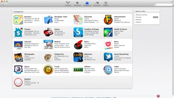 The Mac App Store features a growing number of categories to browse through