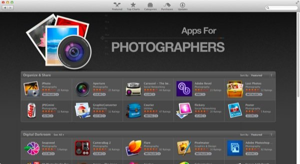 Sometimes specialist categories are set up by Apple to advertise some great apps that share a common theme