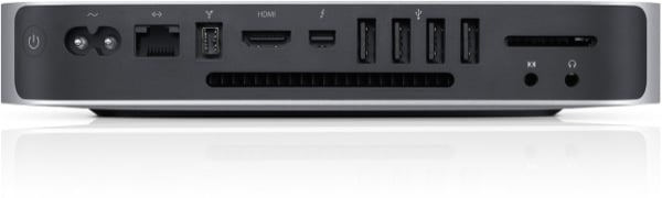 The Mac mini features a number of different ports - and that's a good thing
