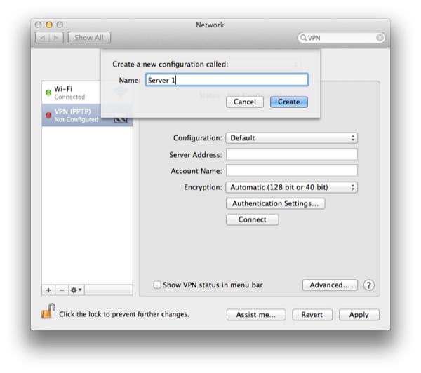 Step 3 Select Configuration and then Add Configuration Name it