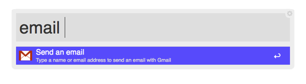 Alfred's email Keyword