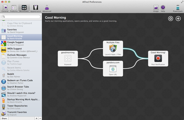 Our Completed Workflow