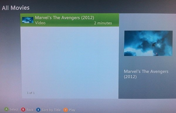 The video Plex is sharing from our Mac