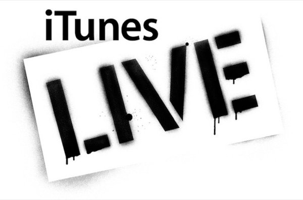 iTunes Live has been a special event in larger stores for some time.