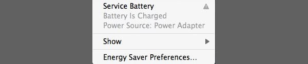 Service Battery will require you to arrange for your battery to be checked by Apple