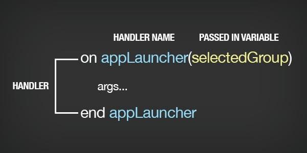 applescript handler