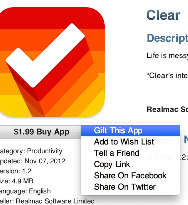Gift This App