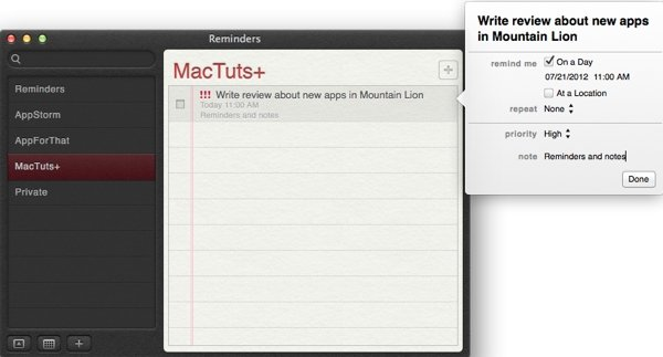 Adding date based alarms to your reminders
