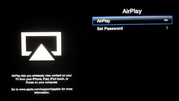 Apple TVAirPlay