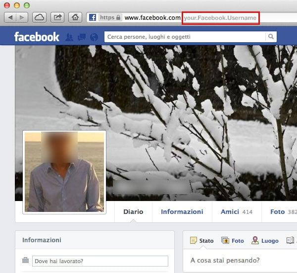 Get Facebook Username