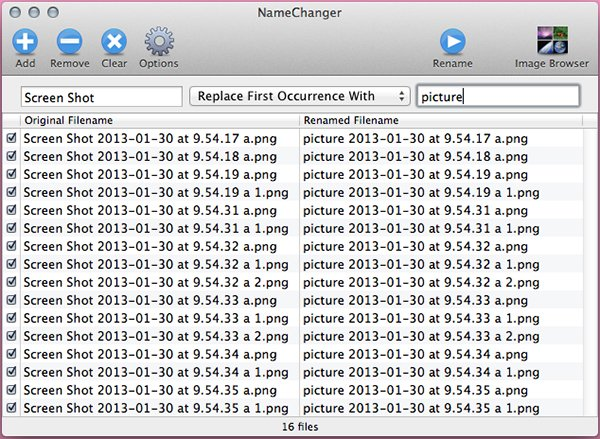 Add a date to your filenames It can be the date the files were created or the current date