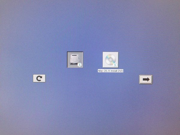 Booting Mac from OS X 10.5 Leopard DVD