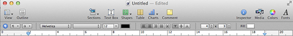 Pages Toolbar