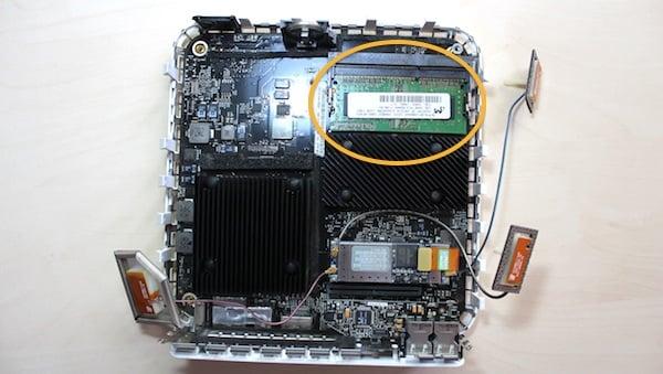 Mac mini memory modules