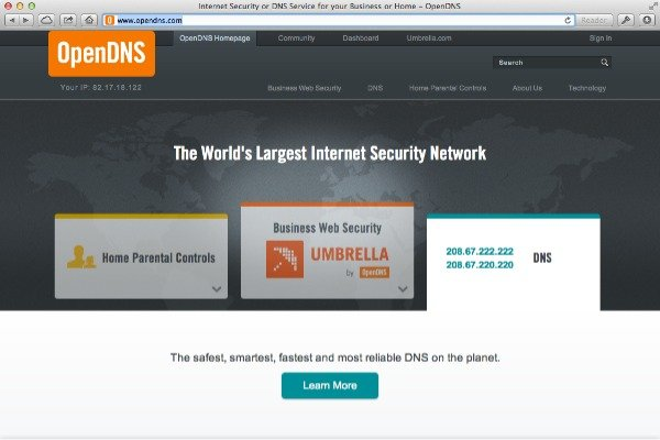 OpenDNS may prove more reliable than your ISPs DNS