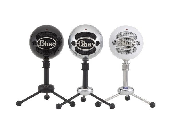 The Blue Microphones Snowball USB mic is a popular microphone for budding musicians and podcasters