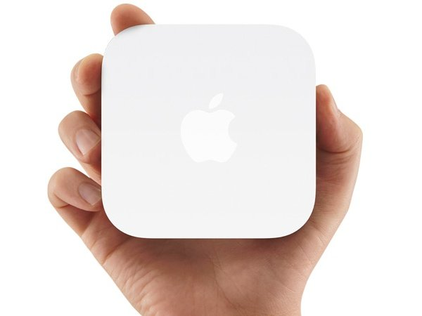 The AirPort Express is a very popular portable base station.