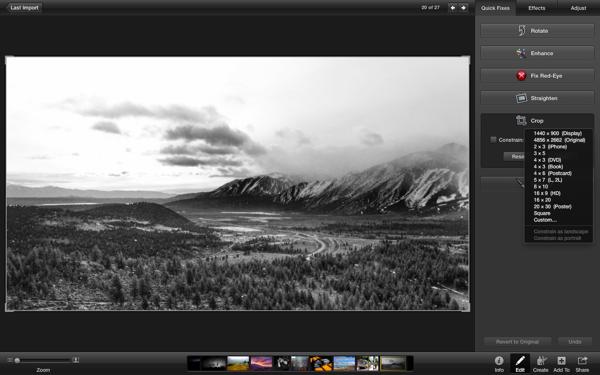 Clean, dark, distraction-free editing.