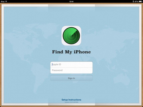 Find My iPhone is also useful if your friend has lost their device as they can use your iOS device to find it.