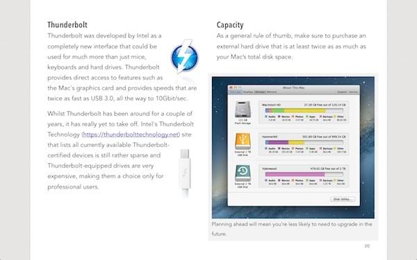 iBooks running in full screen mode
