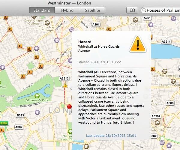 Getting traffic information