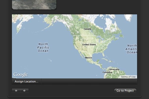 Click Assign Location.