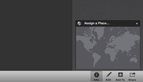 Click Assign a Place.