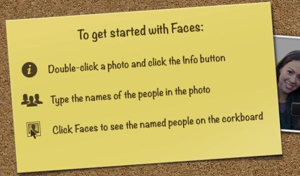 Click Faces.