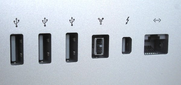 Thunderbolt Display integrated expansion ports