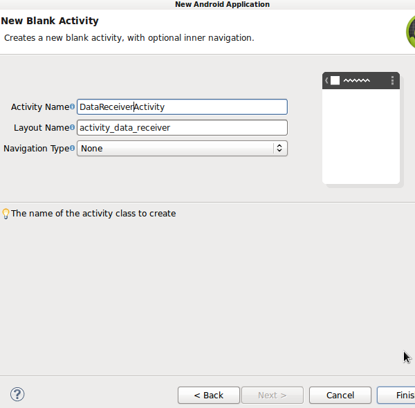 Blank Activity
