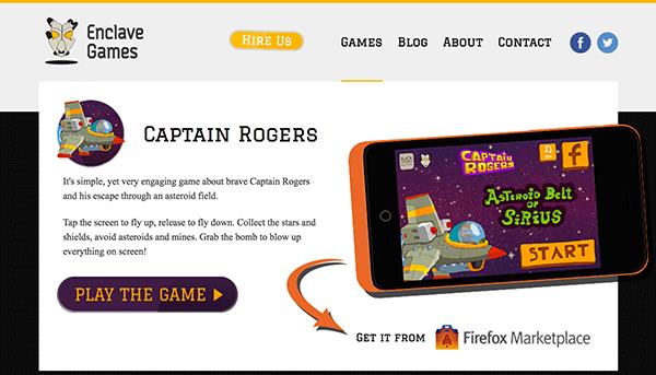 Enclave Games - Captain Rogers