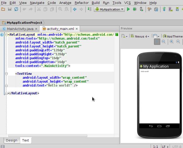 Android Studio Workspace