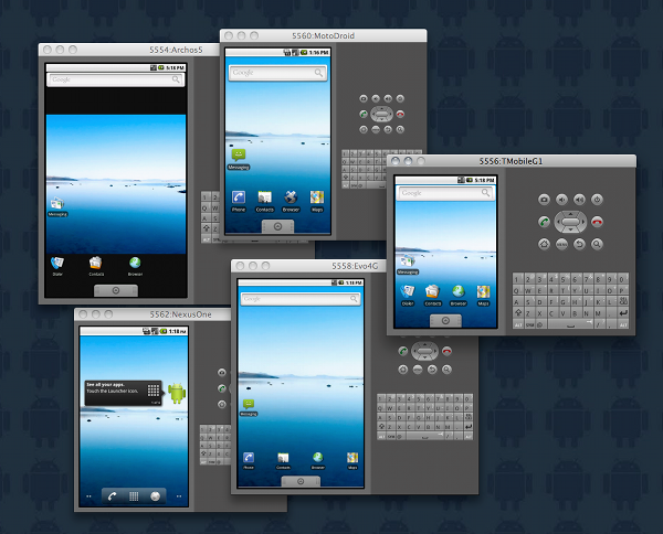 Android Virtual Device Configurations