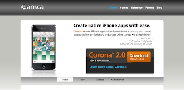 Beginning Corona Development