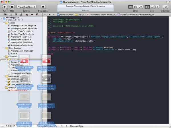 Dragging Images Into Xcode