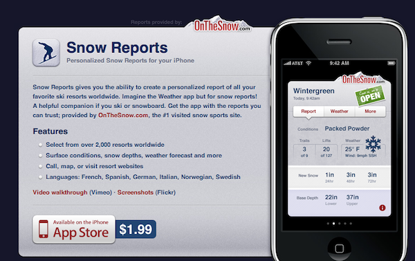 Snow Reports image